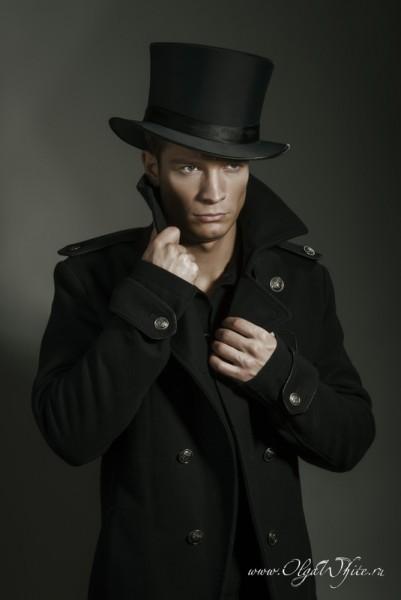 Шляпа цилиндр атласный мужской купить