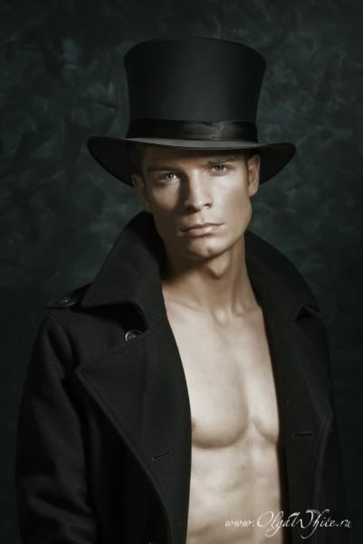 Шляпа мужской цилиндр атласный/шелковый купить в интернет-магазине шляп
