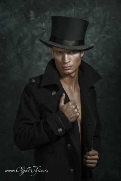 Шляпа цилиндр атласный мужской купить в интернет-магазине шляп