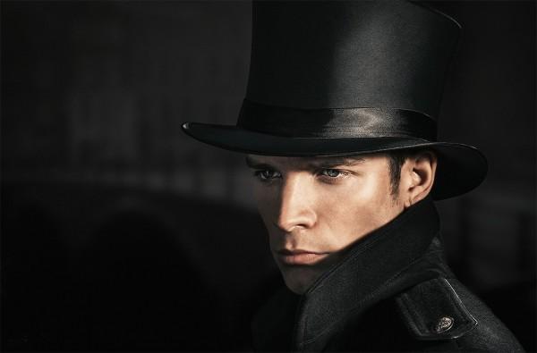 Шляпа цилиндр атласный мужской купить в интернет-магазине