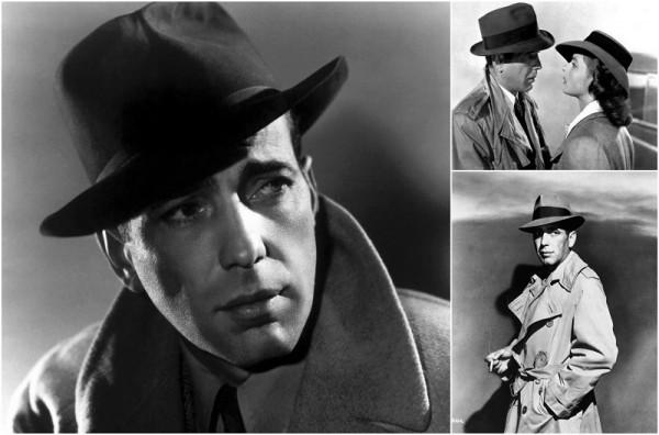 Гангстерский стиль-шляпа Хемфри Богарта фильм Касабланка