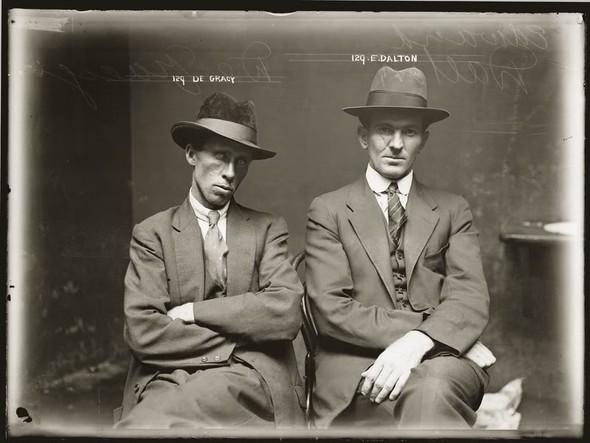 Настоящие фото гангстеров - фото в шляпах