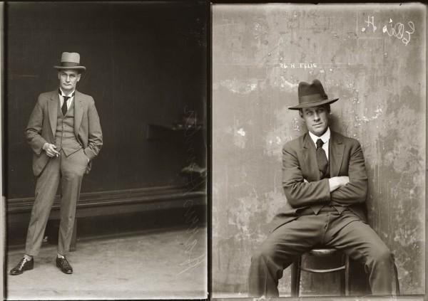 Настоящие гангстеры - фото в шляпах