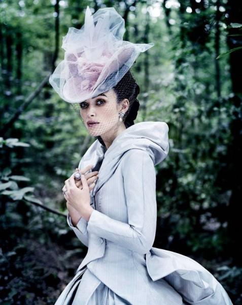 Шляпка к фильму Анна Каренина с Кирой Найтли. Фотосессия для Vogue