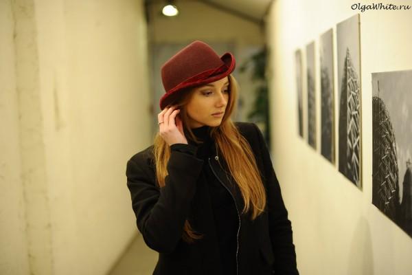 Бордовая шляпа с чем носить. Купить в интернет-магазине шляп Спб