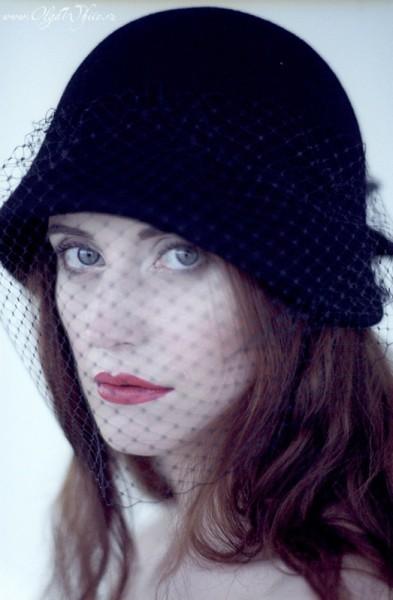 Фетровая шляпка-клош. Купить в интернет-магазине шляп СПб