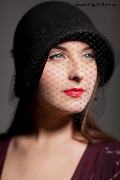 Фетровая шляпка-клош в стиле Гетсби двадцатых 20-х купить