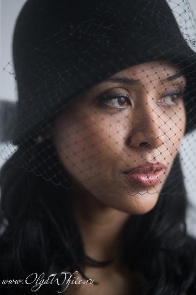 Черная фетровая шляпка-клош с вуалью в стиле двадцатых-в стиле Гетсби. Купить в интернет-магазине шляп в Спб
