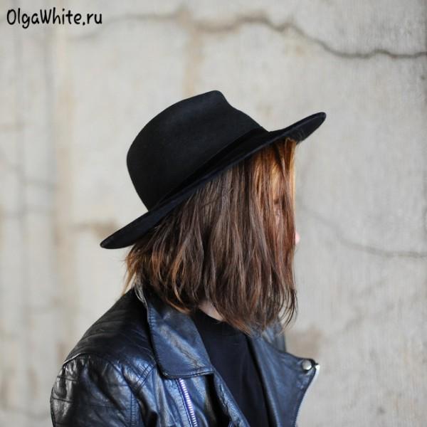 Шляпа широкополая черная фетровая купить спб мск унисекс мужская