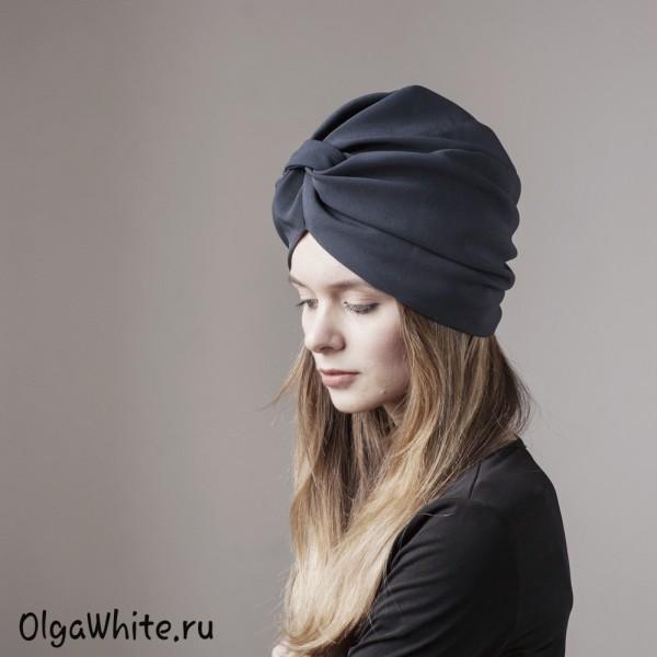 Тюрбан чалма купить Спб интернет магазин Серый тюрбан
