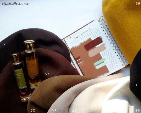 Цвета для коричневых фетровых шляпок