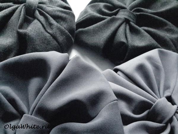 Серый женский тюрбан чалма серый цвета