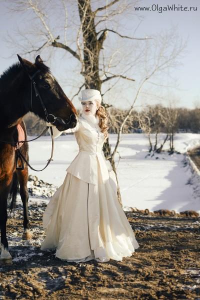Белый женский цилиндр для верховой езды. Купить или заказать в интернет-магазине