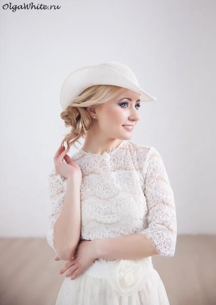 Свадебная шляпка купить.